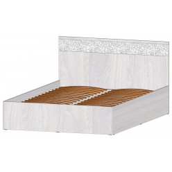Серия Фиеста Кровать 2х сп. 1400 с подъемным механизмом анкор светлый