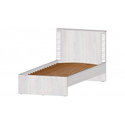 Серия Ривьера кровать 900 анкор светлый