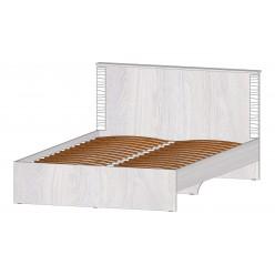 Серия Ривьера кровать 1400 анкор светлый