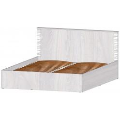Серия Ривьера Кровать 1600 с подъемным механизмом анкор светлый