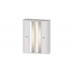 Серия Ривьера Шкаф 4х створчатый анкор светлый