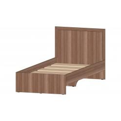 Соната Кровать  900 шимо тёмный