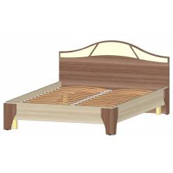 Серия Верона Кровать 1400 ясень шимо комб.