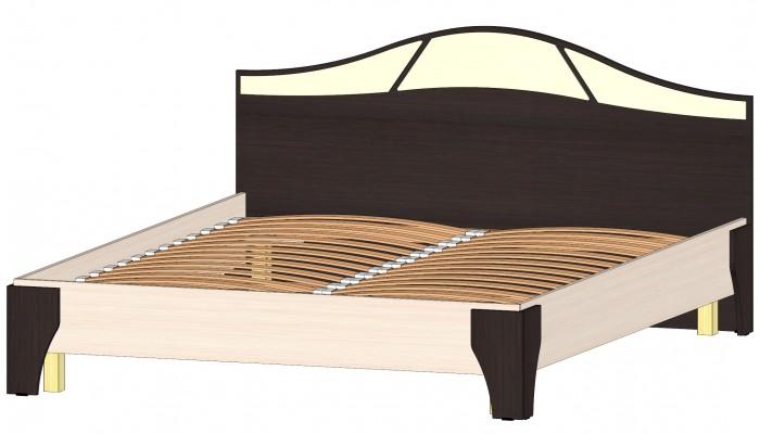 Серия Верона Кровать 1600 венге/дуб мол.