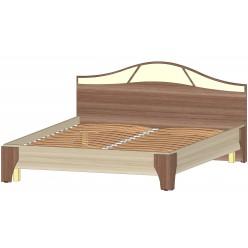 Серия Верона Кровать 1600 ясень шимо комб.