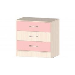 Детская Буратино Комод розовый