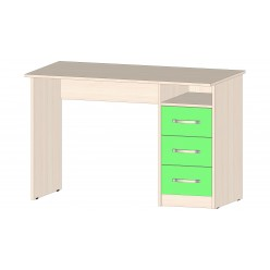 Детская Буратино Стол с ящиками зеленый