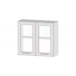 Кухня Ривьера шкаф витрина 800 анкор светлый