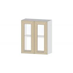 Кухня Ривьера шкаф витрина 600 ясень шимо светлый