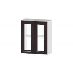 Кухня Ривьера шкаф витрина 600 венге