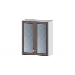 Кухня Прованс шкаф витрина 600 трюфель